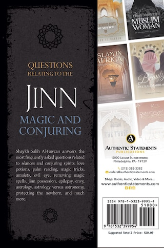 Questions Relating To The Jinn, Magic, And Conjuring